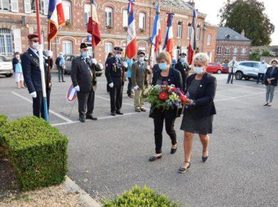 La commémoration du 76 éme anniversaire de la Libération