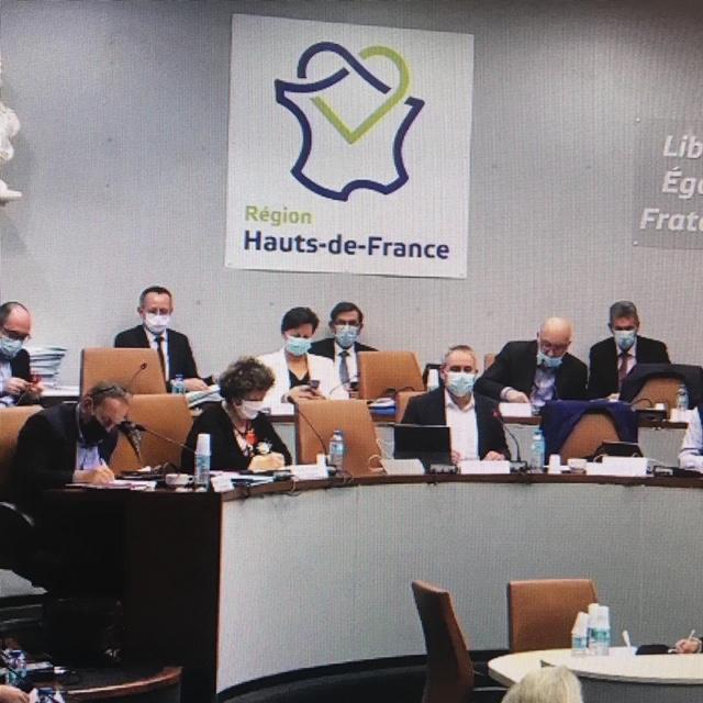 Commission permanente de la Région Hauts-de-France