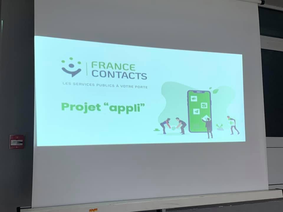 Lancement de l'application France Contacts à Guise