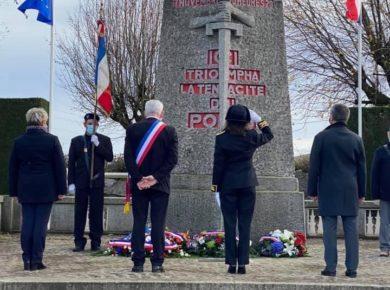 Cérémonie du 102 ème anniversaire du Cessez-le-feu