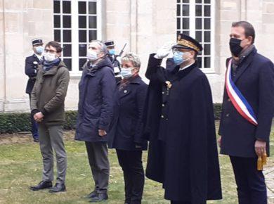 Hommage aux militaires de la Gendarmerie