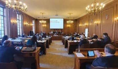 Séance plénière au Conseil départemental de l'Aisne