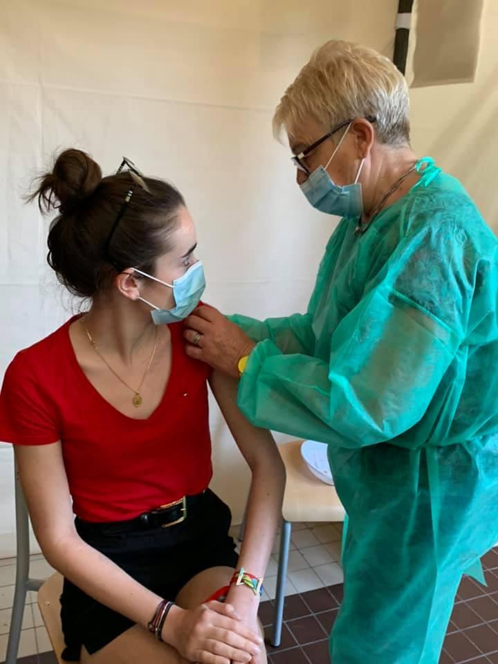 Centre de vaccination de Marle