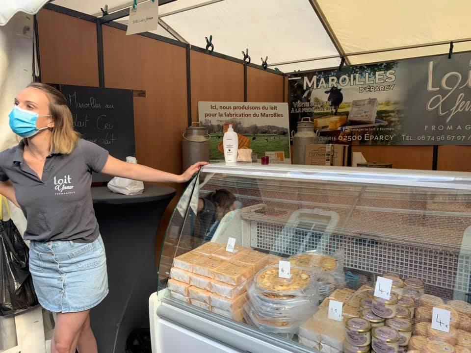 Foire aux fromages à La Capelle