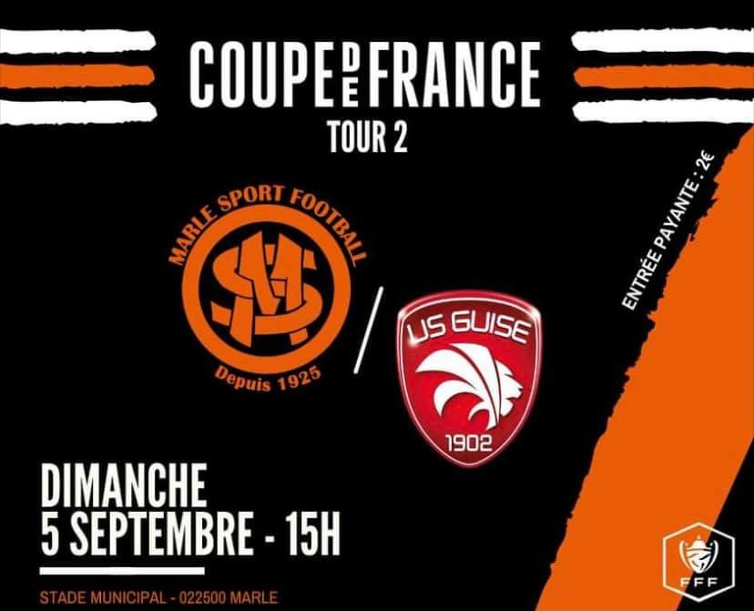 COUPE DE FRANCE ⚽️ Marle - Guise