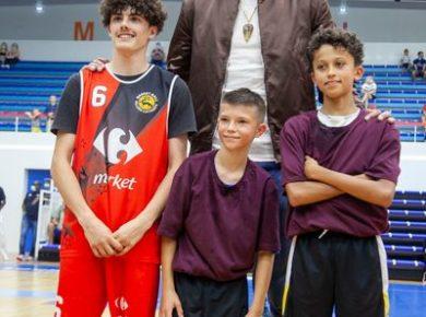 vice-champion olympique et star de la NBA Rudy Gobert